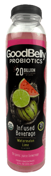 $0.50 for GoodBelly® Probiotics Infused Beverage (expiring on Sunday, 05/20/2018). Offer available at King Soopers, Safeway, Kroger, Whole Foods Market®.