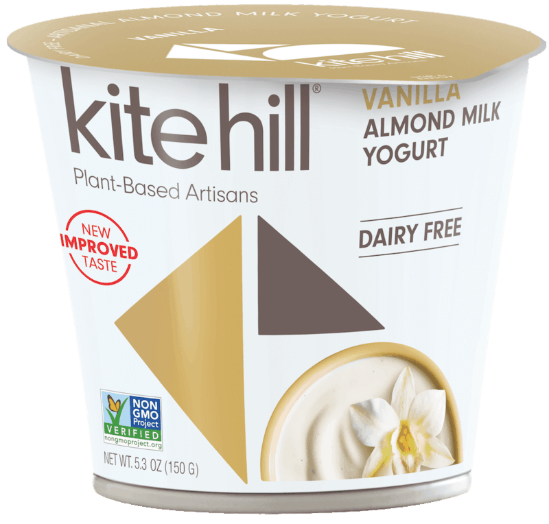 $0.75 for Kite Hill European and Greek-Style Almond Milk Yogurt (expiring on Monday, 11/30/2020). Offer available at multiple stores.