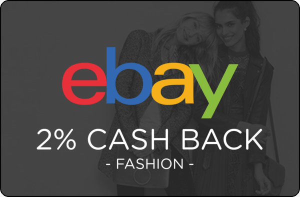 $0.00 for Ebay Fashion (expiring on Friday, 05/18/2018). Offer available at eBay.