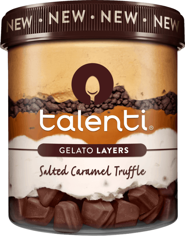 $1.00 for Talenti Gelato Layers (expiring on Thursday, 07/02/2020). Offer available at Walmart.
