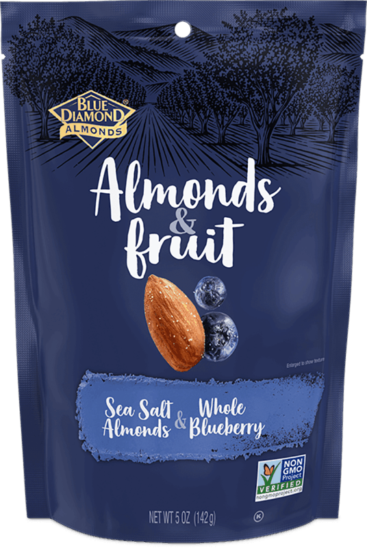 $1.00 for Blue Diamond® Almonds & Fruit (expiring on Monday, 03/02/2020). Offer available at Walmart.