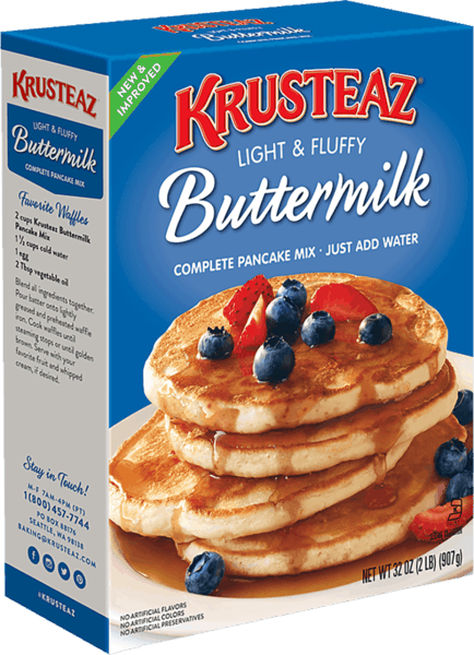 $0.25 for Krusteaz® Pancake or Waffle Mix (expiring on Thursday, 05/02/2019). Offer available at Walmart.