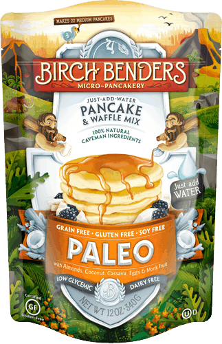 $0.50 for Birch Benders® Pancake and Waffle Mix (expiring on Wednesday, 04/04/2018). Offer available at multiple stores.