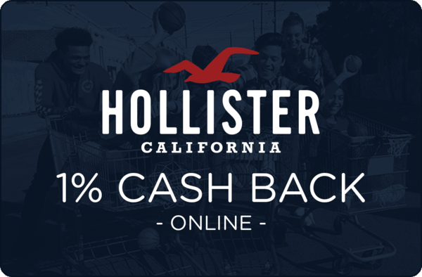 $0.00 for Hollister (expiring on Sunday, 09/30/2018). Offer available at Hollister.