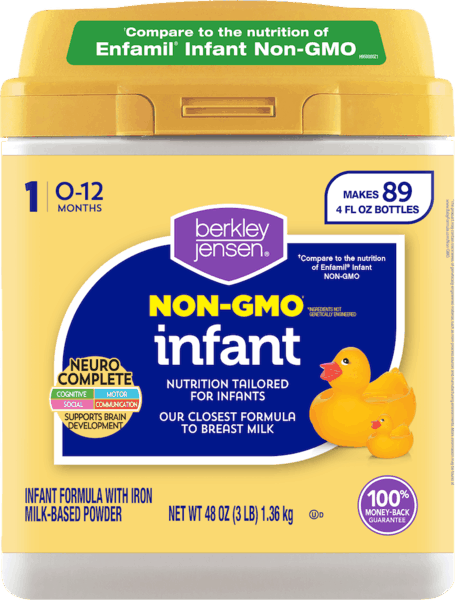 $4.00 for Berkley Jensen® Infant Formula (expiring on Saturday, 02/02/2019). Offer available at BJ's.