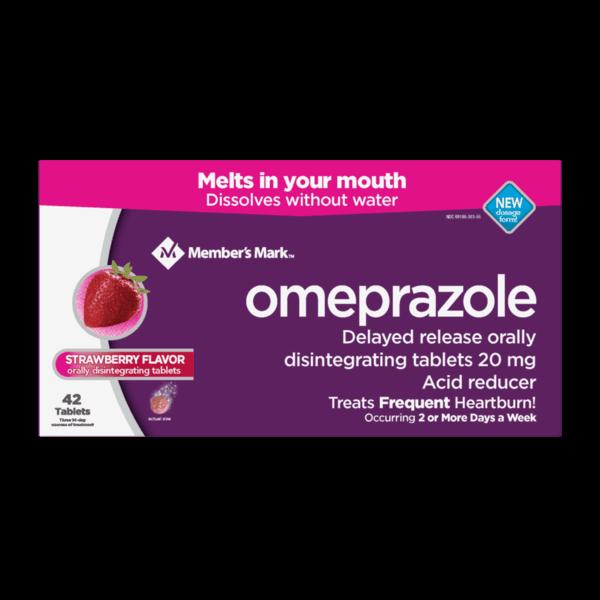 3 00 For Member S Mark Omeprazole Acid Reducer Orally