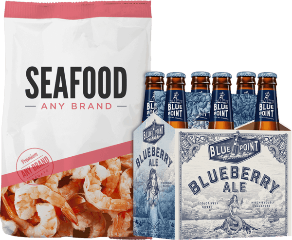 $2.00 for Blue Point® AND Seafood (expiring on Wednesday, 05/09/2018). Offer available at multiple stores.
