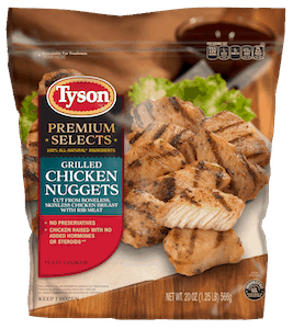 $1.50 for Tyson® Premium Selects Chicken (expiring on Monday, 04/02/2018). Offer available at Walmart.
