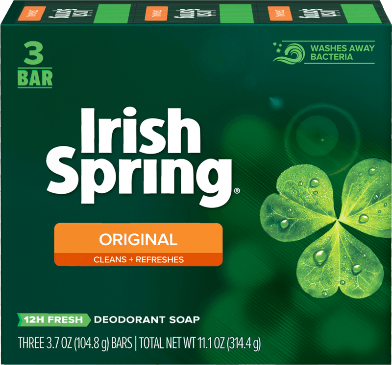 $0.75 for Irish Spring Bar Soap (expiring on Thursday, 05/13/2021). Offer available at Target, Target Online.