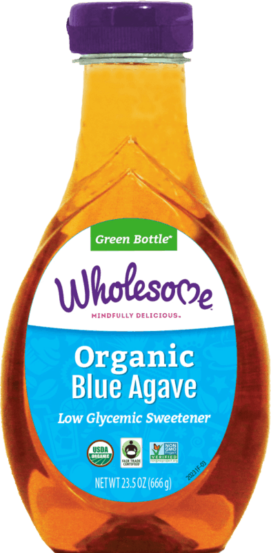 $1.00 for Wholesome Organic Blue Agave (expiring on Monday, 08/03/2020). Offer available at multiple stores.