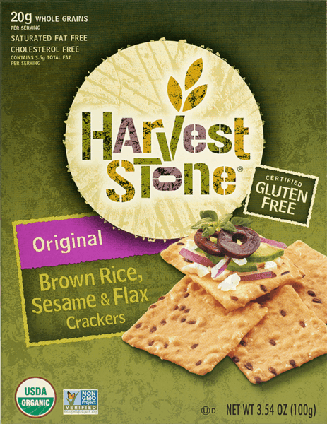 $1.00 for Harvest Stone® Crackers (expiring on Friday, 03/16/2018). Offer available at multiple stores.