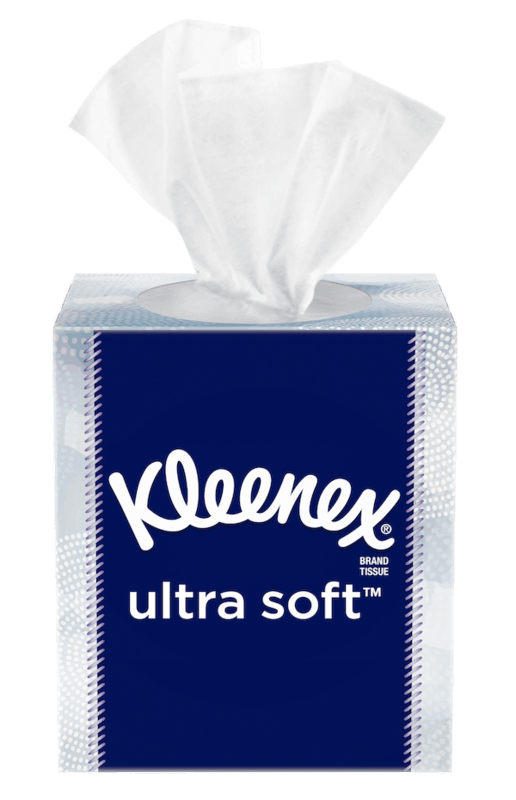 $0.50 for Kleenex® Brand Tissue. Offer available at multiple stores.