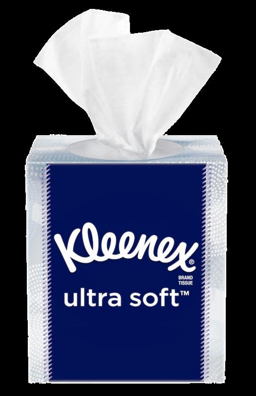 $0.50 for Kleenex® Brand Tissue (expiring on Sunday, 02/02/2020). Offer available at multiple stores.