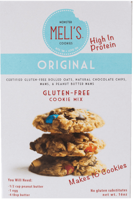 $1.00 for Meli's™ Monster Cookies Pre-baked, Ready to Eat Cookies (expiring on Thursday, 04/02/2020). Offer available at multiple stores.