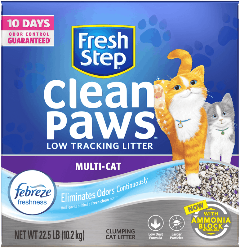 $2.50 for Fresh Step®. Offer available at Walmart.