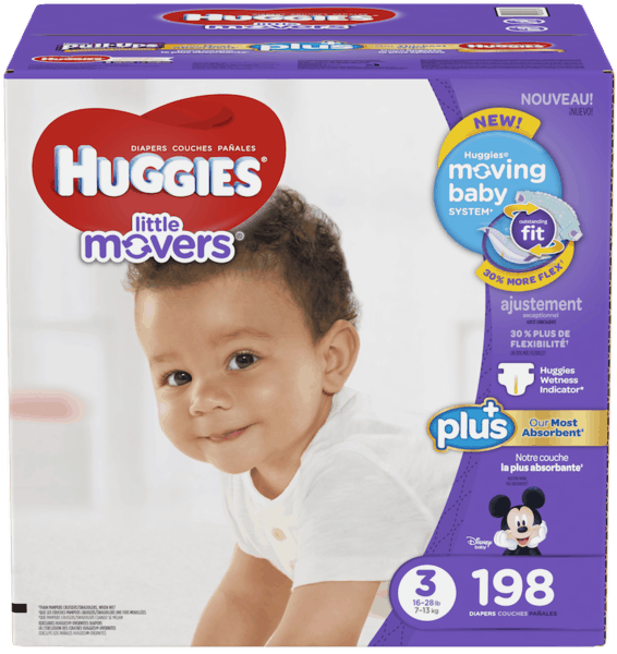 $5.00 for Huggies® Diapers Plus (expiring on Friday, 09/15/2017). Offer available at Costco.