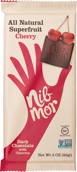 $0.75 for NibMor® All Natural Chocolate Bar (expiring on Monday, 12/25/2017). Offer available at multiple stores.