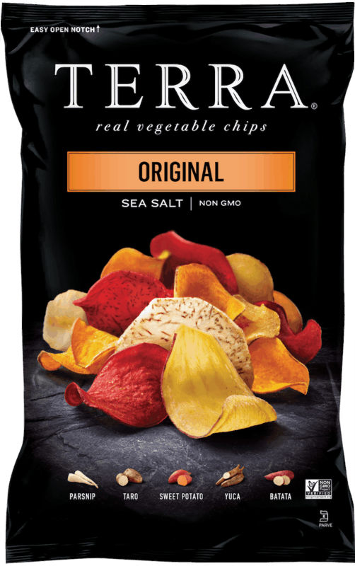 $1.00 for TERRA Chips. Offer available at multiple stores.