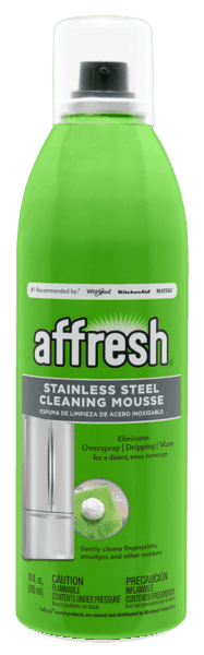 $1.00 for affresh® Stainless Steel Cleaning Mousse (expiring on Tuesday, 01/08/2019). Offer available at Home Depot.