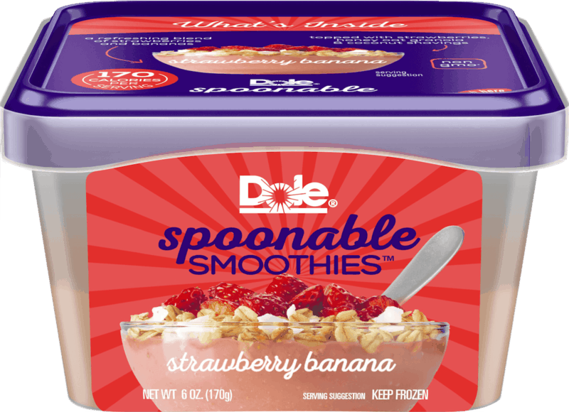 $0.75 for Frozen Dole Spoonable Smoothies (expiring on Sunday, 08/02/2020). Offer available at multiple stores.
