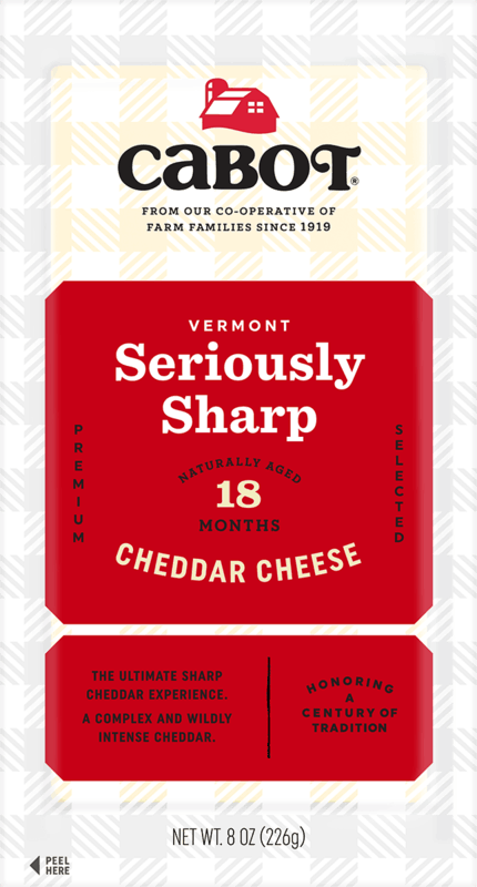 $1.00 for Cabot Creamery Specialty Cheese (expiring on Sunday, 08/15/2021). Offer available at ShopRite.