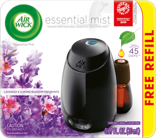 $2.00 for Air Wick Essential Mist Starter Kit. Offer available at Walmart, Walmart Grocery.