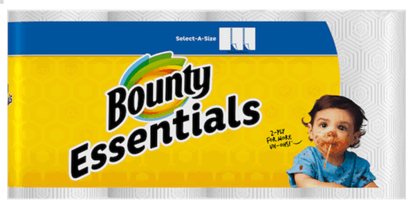 $1.00 for Bounty® Essentials and Basic Paper Towels (expiring on Sunday, 07/01/2018). Offer available at multiple stores.