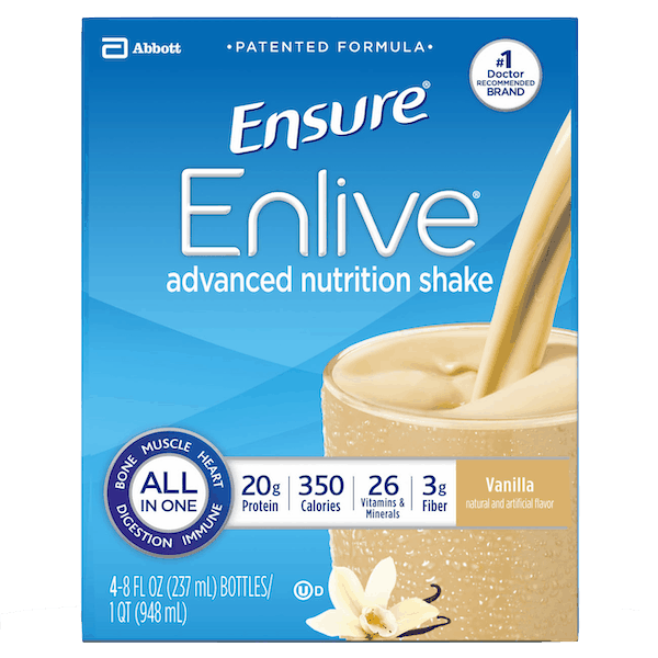 $2.50 for Ensure® Enlive® Advanced Nutrition Shake. Offer available at Walmart.
