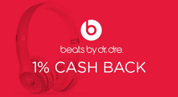 $0.00 for Beats by Dr. Dre (expiring on Thursday, 04/04/2019). Offer available at Beats by Dr. Dre powered by Apple Store.