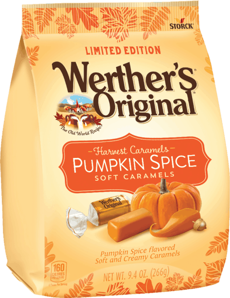 $1.25 for Werther's® Original® Harvest Caramels. Offer available at multiple stores.