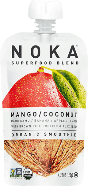$0.50 for NOKA™ Organic Smoothie (expiring on Tuesday, 04/02/2019). Offer available at King Soopers, Whole Foods Market®, Natural Grocers.