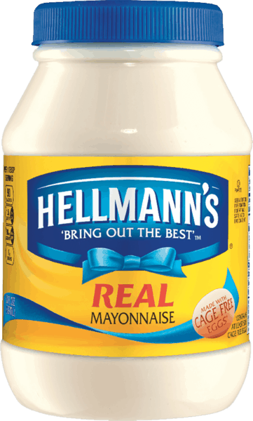 $0.50 for Hellmann's® Real Mayonnaise Jar. Offer available at multiple stores.
