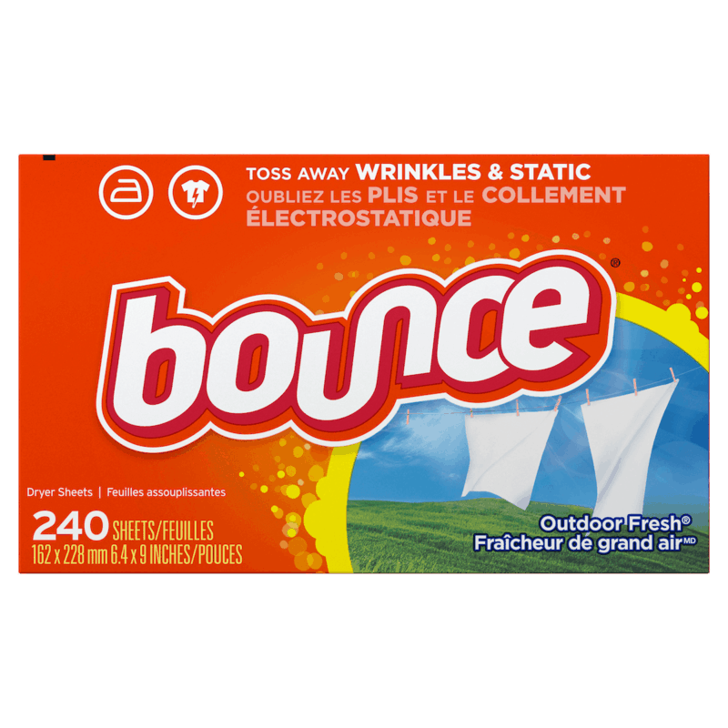 $0.50 for Bounce Dryer Sheets (expiring on Friday, 12/11/2020). Offer available at Walmart, Walmart Grocery.