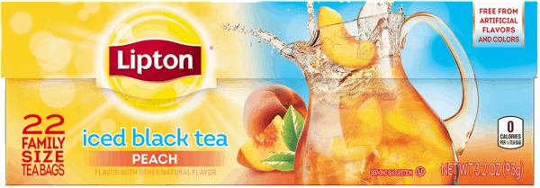 $0.50 for Lipton® Iced Tea Family Size Tea Bags (expiring on Wednesday, 01/31/2018). Offer available at Walmart.