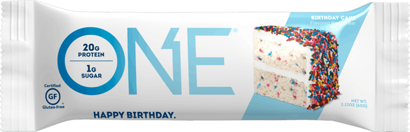 $0.50 for ONE Protein Bar (expiring on Friday, 08/06/2021). Offer available at multiple stores.