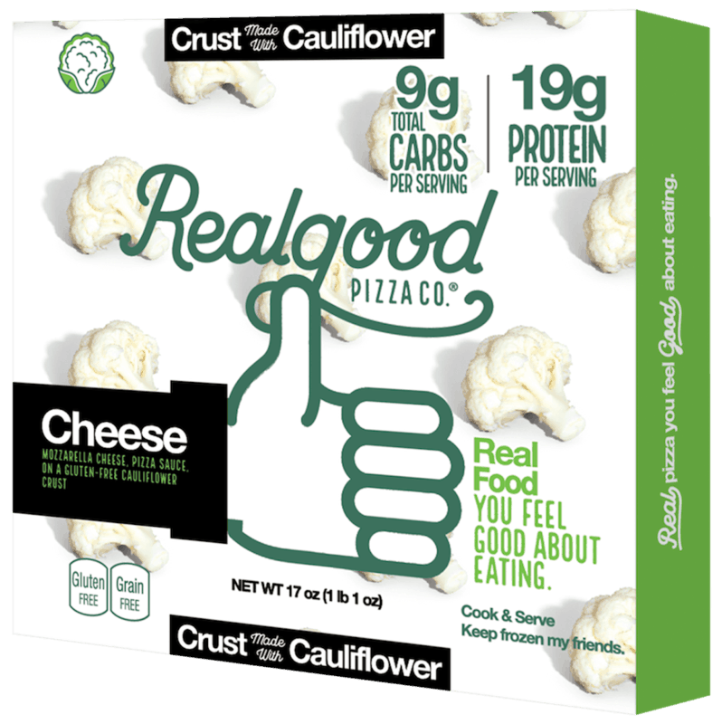 $3.00 for Real Good Foods® Cauliflower Crust Pizza. Offer available at multiple stores.