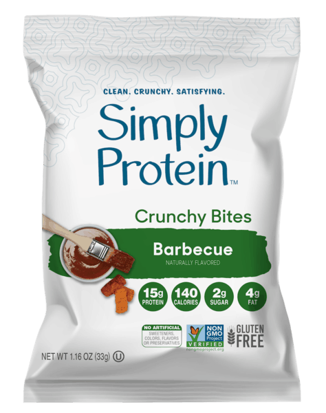 $1.00 for SimplyProtein™ Crunchy Bites (expiring on Wednesday, 10/02/2019). Offer available at Giant Eagle, Hy-Vee, Bed Bath & Beyond.