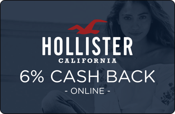 $0.00 for Hollister (expiring on Wednesday, 04/01/2020). Offer available at Hollister.