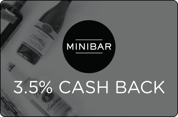 $0.00 for Minibar (expiring on Thursday, 10/26/2017). Offer available at Minibar.