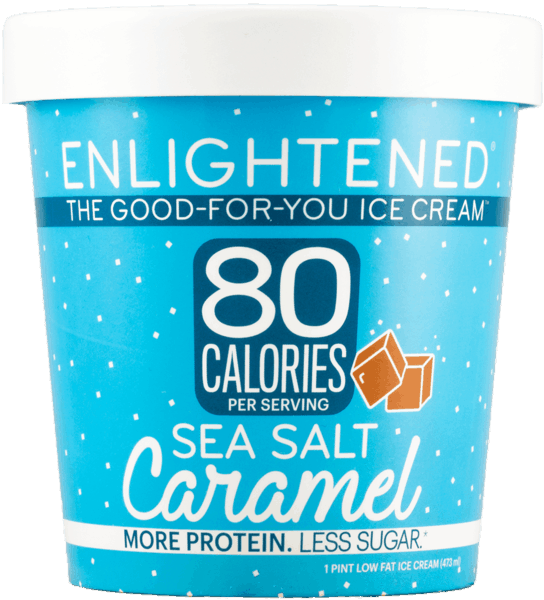 $1.25 for Enlightened® The Good-For-You Ice Cream™ Pints. Offer available at multiple stores.