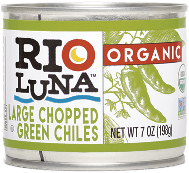 $0.75 for Rio Luna™ Organic Large Chopped Green Chiles (expiring on Monday, 04/06/2020). Offer available at multiple stores.