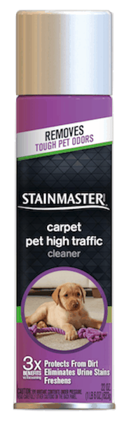 $1.00 for STAINMASTER® Pet High Traffic Cleaner (expiring on Tuesday, 04/30/2019). Offer available at Walmart.