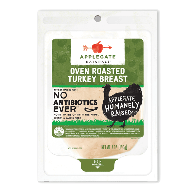 $0.75 for Applegate Naturals Deli Meat. Offer available at multiple stores.