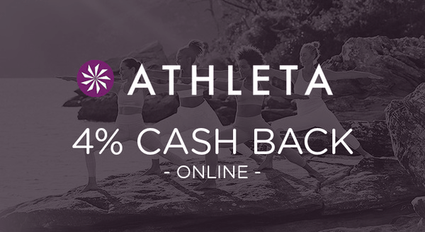 $0.00 for Athleta (expiring on Wednesday, 11/28/2018). Offer available at Athleta.