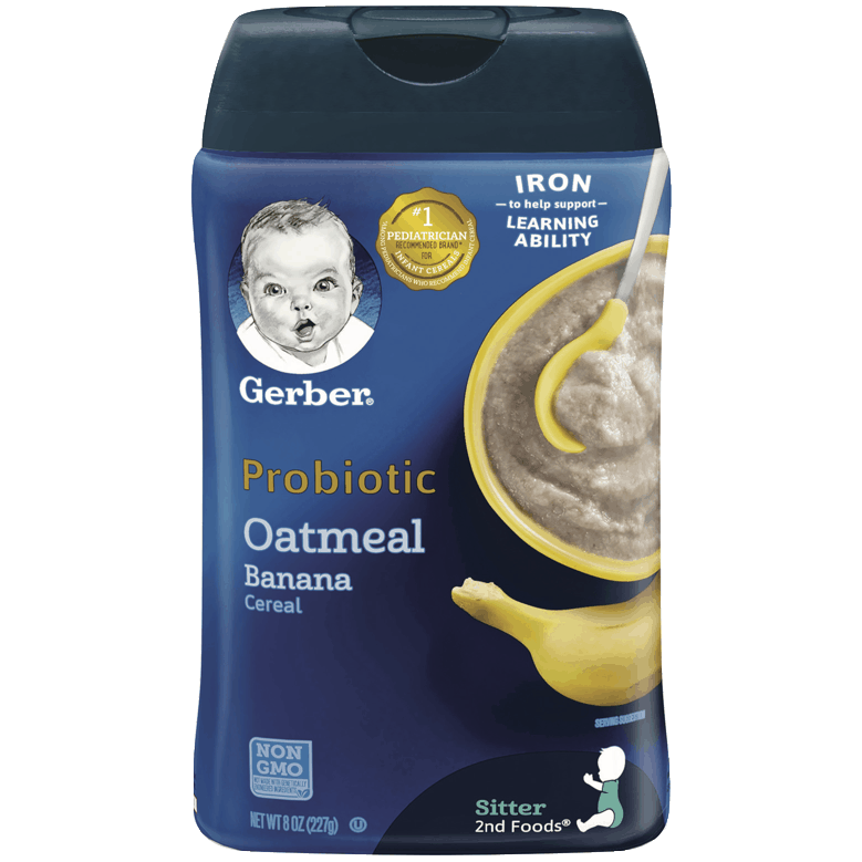 $0.75 for Gerber Cereal (expiring on Friday, 04/30/2021). Offer available at Publix, H-E-B.