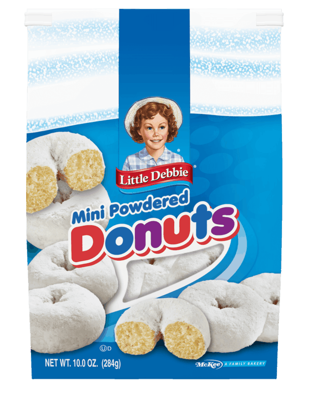 $0.50 for Little Debbie Bagged Mini Donuts (expiring on Tuesday, 06/02/2020). Offer available at multiple stores.