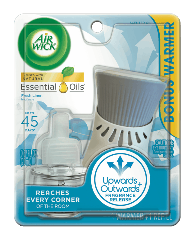 $0.75 for Air Wick® Scented Oil Kit. Offer available at Walmart.