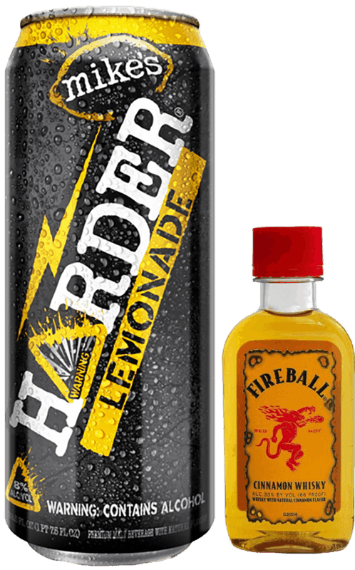 $1.00 for Fireball Cinnamon Whisky & mike's HARDER® (expiring on Wednesday, 09/04/2019). Offer available at multiple stores.