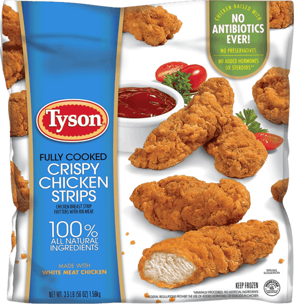 $3.00 for Tyson® Crispy Chicken Breast Strips. Offer available at Sam's Club.