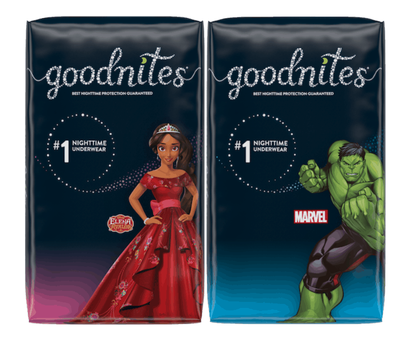 $1.00 for Huggies®GoodNites® (expiring on Sunday, 02/02/2020). Offer available at Walmart.